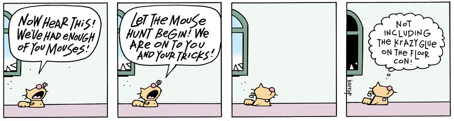 Ten Cats Comic Strip for August 16, 2017