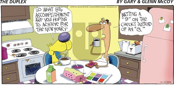 The Duplex on Sunday January 6, 2019 Comic Strip