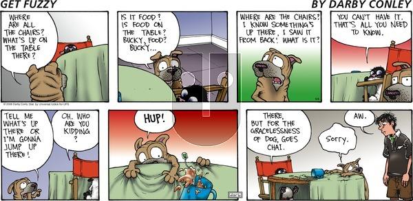 Get Fuzzy - Sunday September 8, 2013 Comic Strip