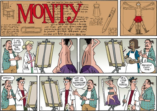 Monty on Sunday August 21, 2016 Comic Strip