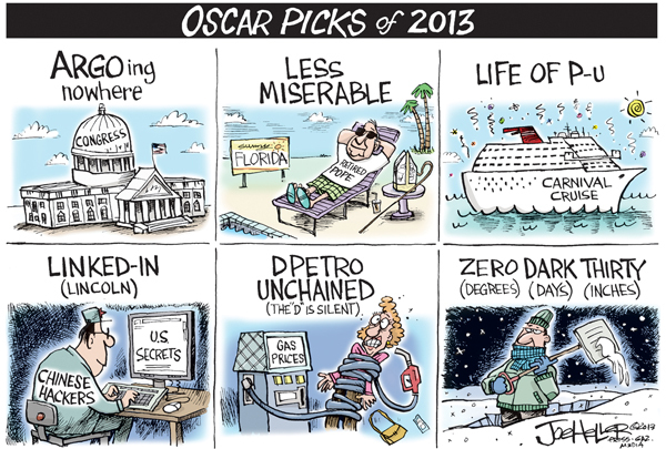 Joe Heller for Feb 25, 2013 Comic Strip
