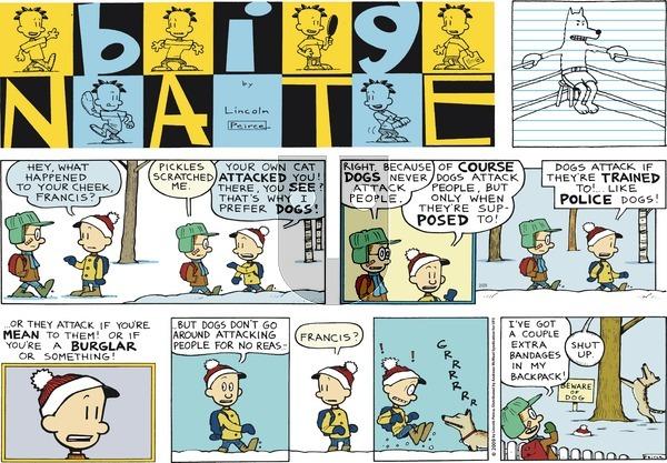 Big Nate on Sunday February 25, 2018 Comic Strip