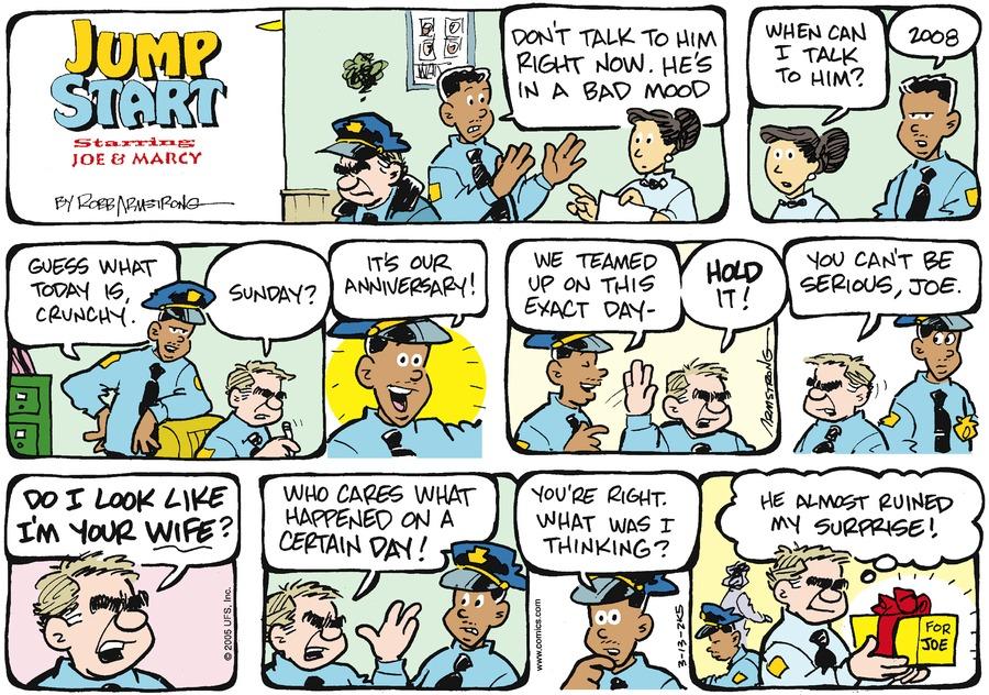 JumpStart for Mar 13, 2005 Comic Strip