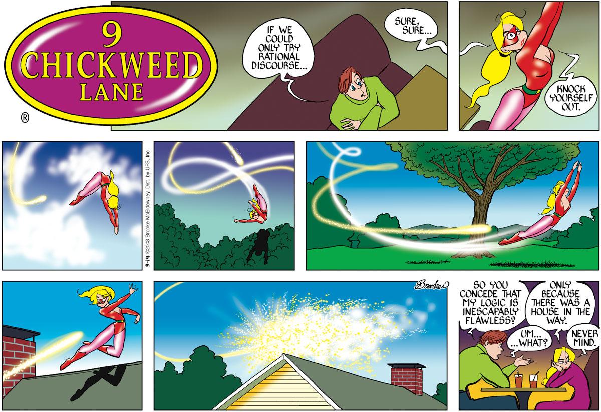 9 Chickweed Lane Comic Strip for September 14, 2008