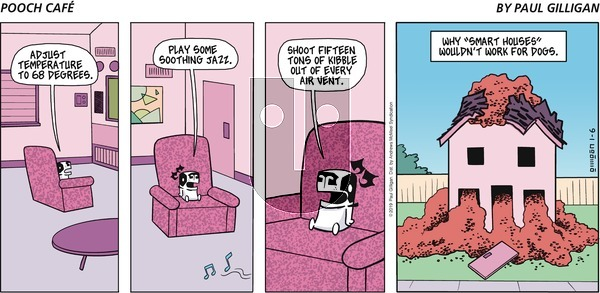 Pooch Cafe on Sunday January 6, 2019 Comic Strip