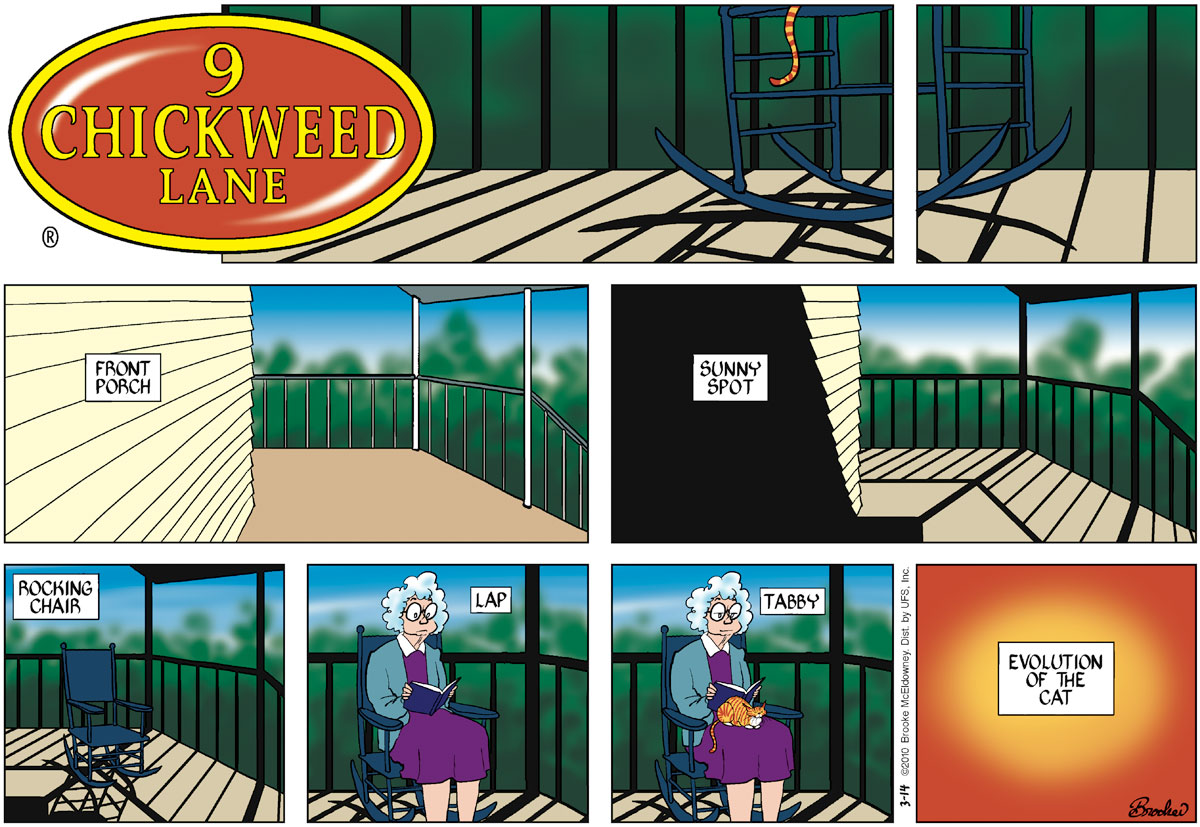 9 Chickweed Lane for Mar 14, 2010 Comic Strip