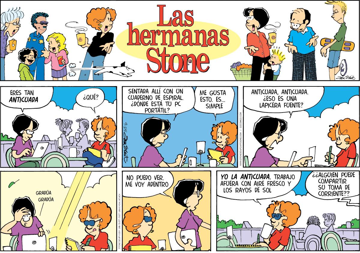 Las Hermanas Stone for Sep 25, 2011 Comic Strip