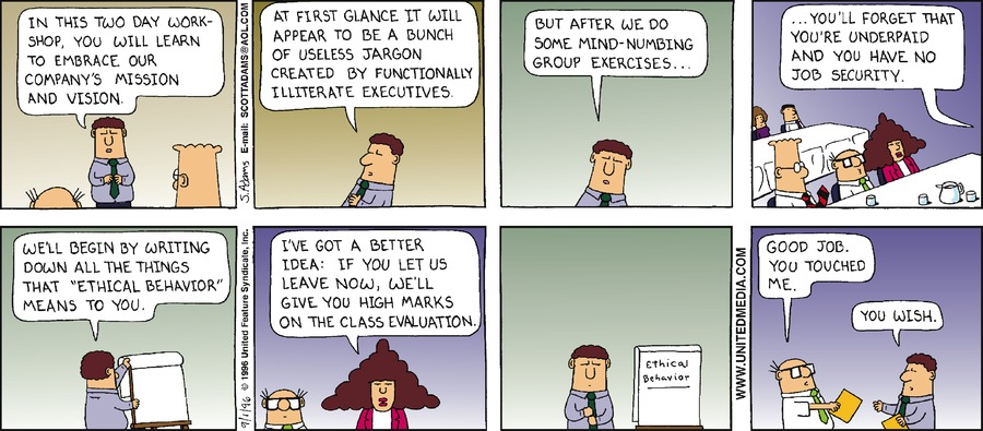 Dilbert Classics Comic Strip for August 02, 2020