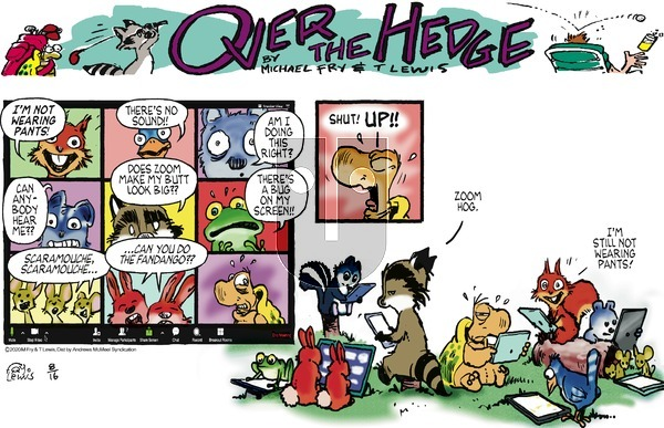 Over the Hedge - Sunday August 16, 2020 Comic Strip