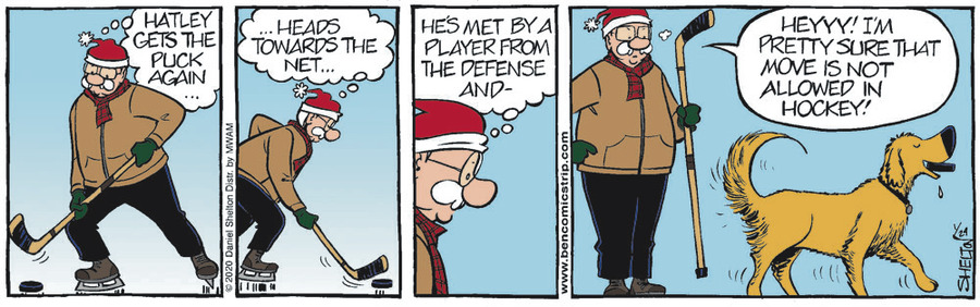 Ben Comic Strip for January 24, 2020