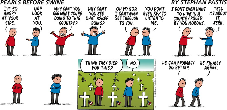 Pearls Before Swine Comic Strip for May 30, 2021