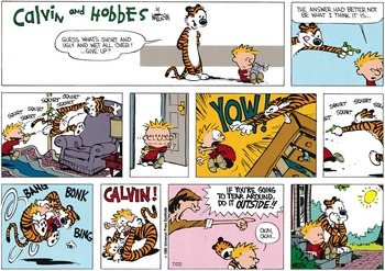 Calvin and Hobbes (July 13, 1986)