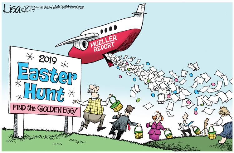 Lisa Benson Comic Strip for April 18, 2019