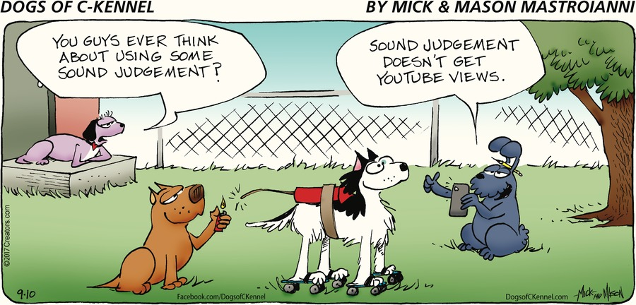 Dogs of C-Kennel Comic Strip for September 10, 2017