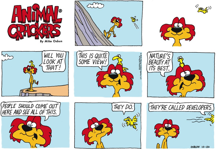 Animal Crackers Comic Strip for October 20, 2019