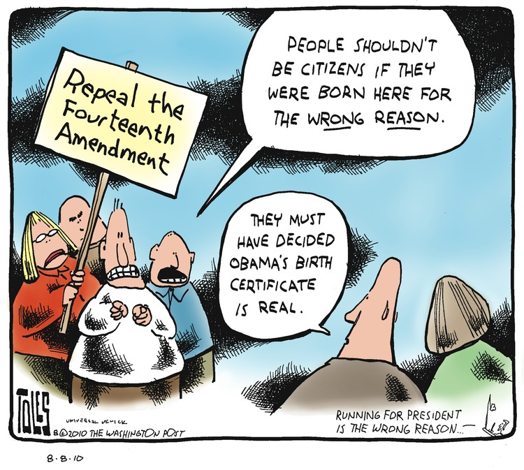 Tom Toles Comic Strip for August 08, 2010