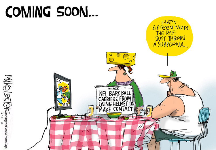 Mike Lester for Mar 21, 2013 Comic Strip