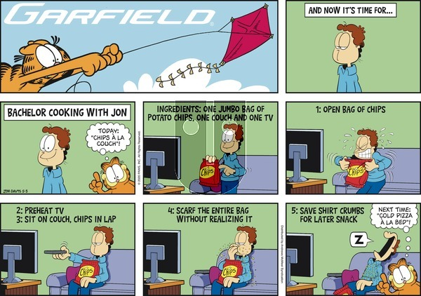 Garfield on Sunday May 3, 2020 Comic Strip