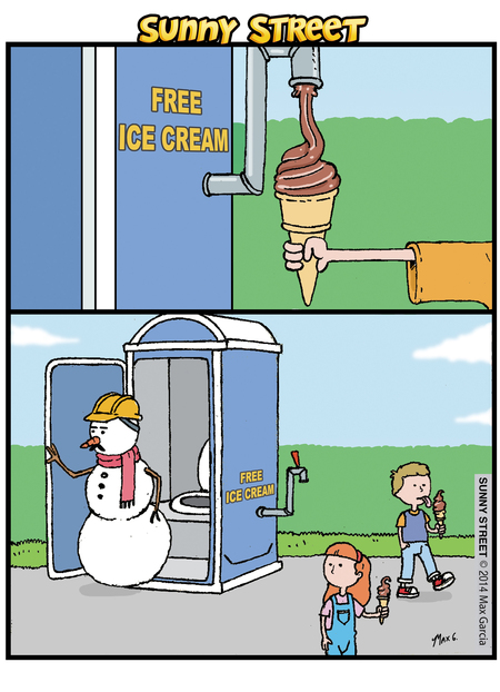 Sunny Street Comic Strip for March 27, 2014