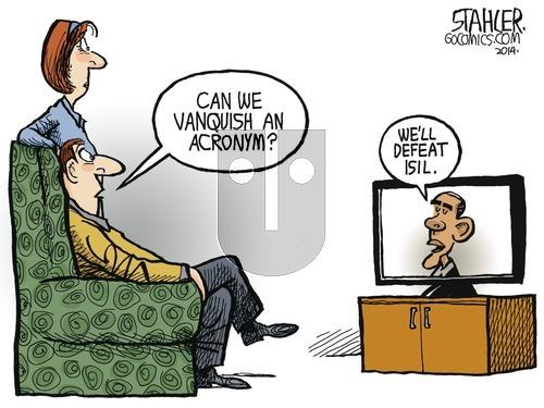 Jeff Stahler on Sunday September 14, 2014 Comic Strip