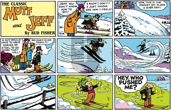 Mutt & Jeff on December 2, 2018 Comic Strip