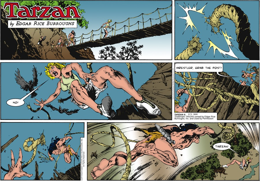 Tarzan by Edgar Rice Burroughs for September 15, 2019