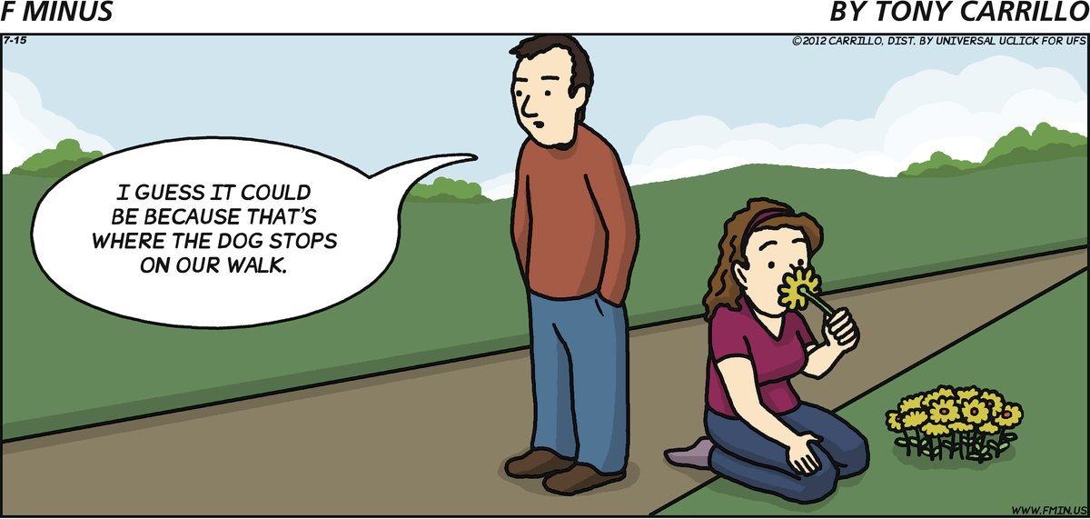 F Minus for Jul 15, 2012 Comic Strip
