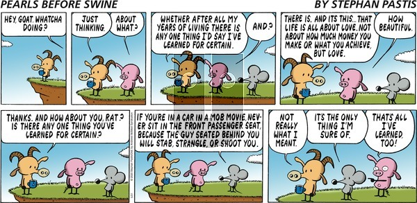 Pearls Before Swine on Sunday May 31, 2020 Comic Strip