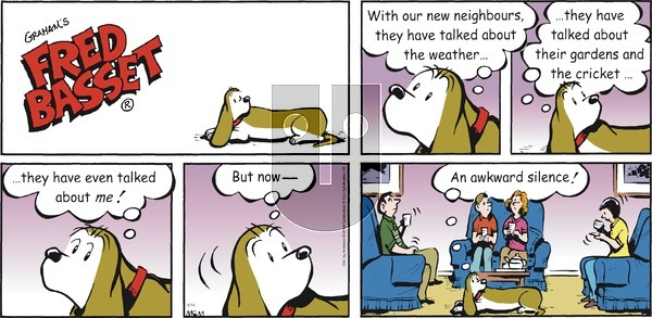 Fred Basset on Sunday March 14, 2021 Comic Strip
