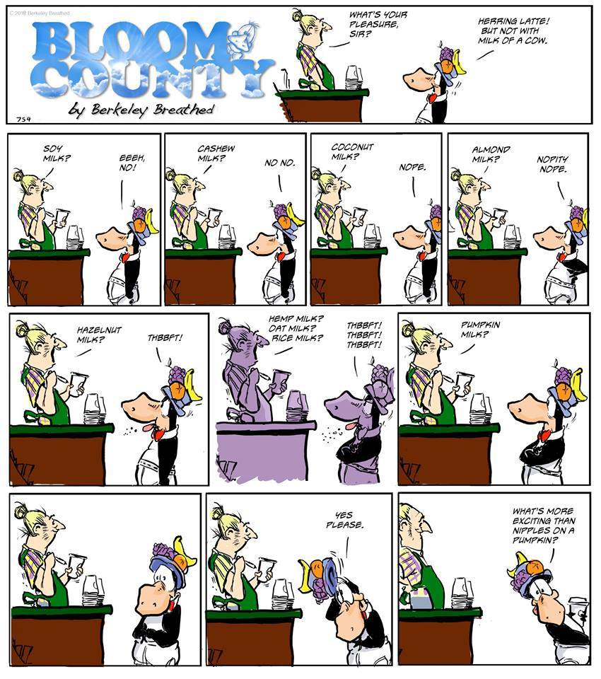 Bloom County 2018 by Berkeley Breathed for March 29, 2019