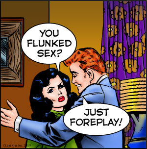 Last Kiss Comic Strip for January 21, 2009