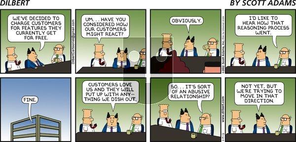 Dilbert - Sunday February 19, 2012 Comic Strip