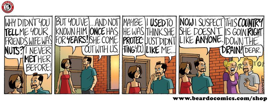 Beardo Comic Strip for October 21, 2019