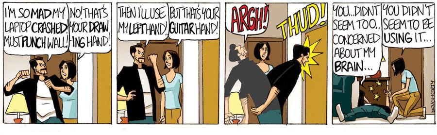 Beardo for Nov 5, 2013 Comic Strip