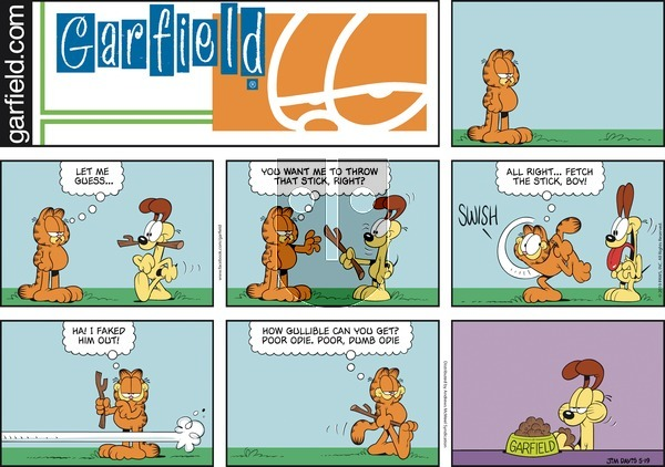 Garfield on Sunday May 19, 2019 Comic Strip