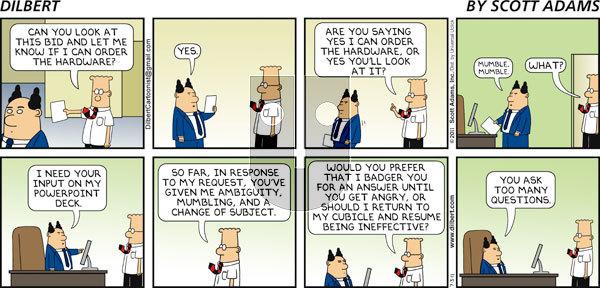 Dilbert - Sunday July 3, 2011 Comic Strip