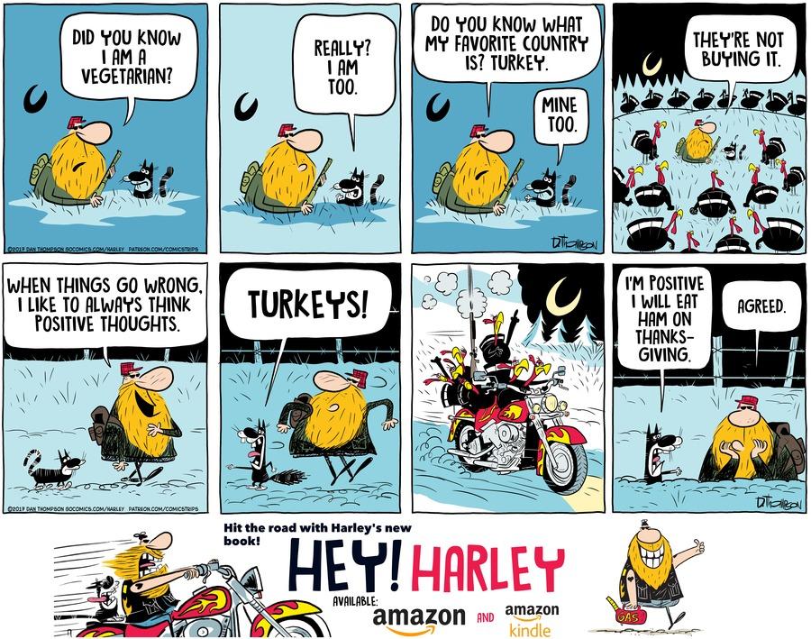 Harley Comic Strip for November 17, 2019