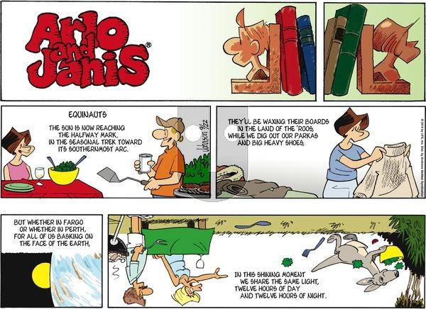 Arlo and Janis - Sunday September 22, 2019 Comic Strip