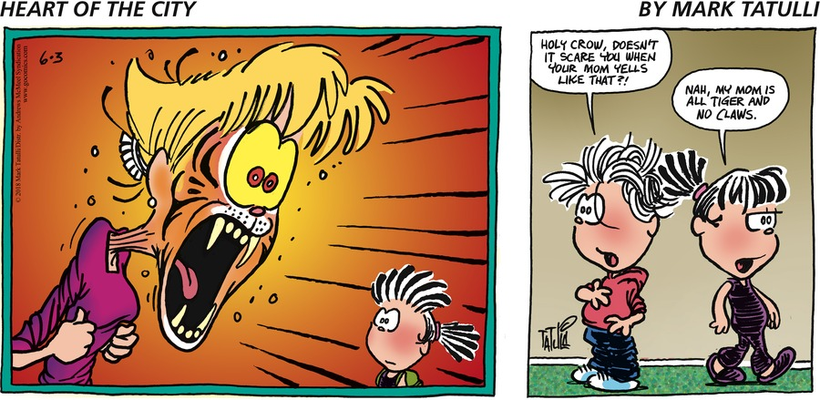 Heart of the City for Jun 3, 2018 Comic Strip