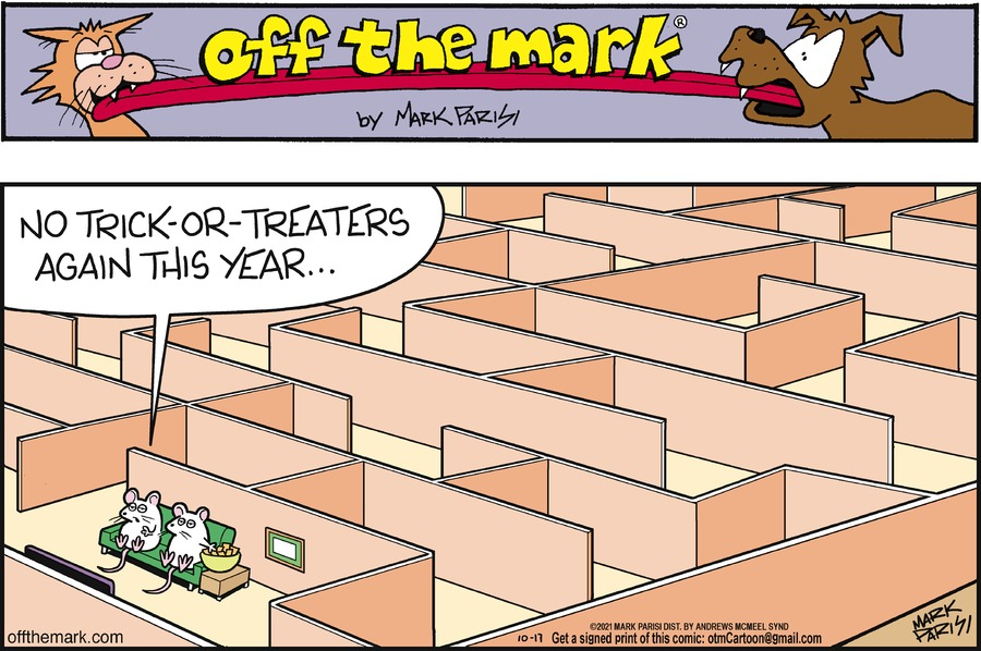 Off the Mark by Mark Parisi on Sun, 17 Oct 2021