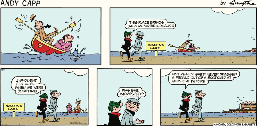 Andy Capp Comic Strip for December 09, 2018