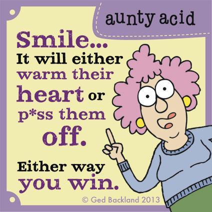 Aunty Acid for Aug 12, 2013 Comic Strip