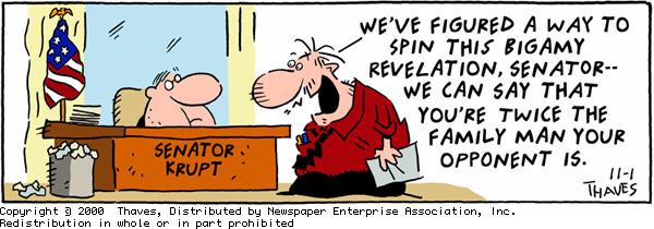 Frank and Ernest Comic Strip for November 01, 2000