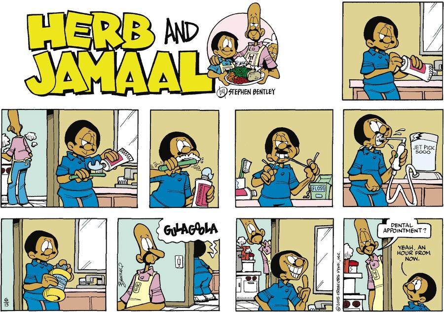 Herb and Jamaal by Stephen Bentley on Sun, 13 Jun 2021