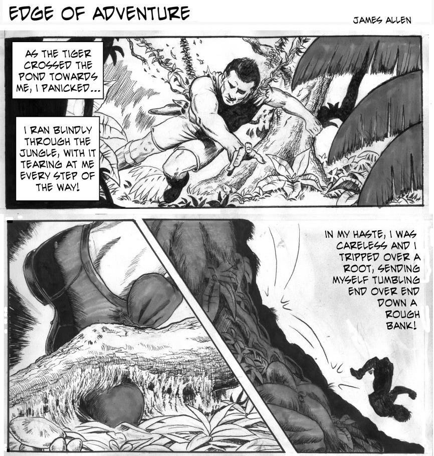 Edge of Adventure by James Allen and Brice Vorderbrug for August 25, 2019