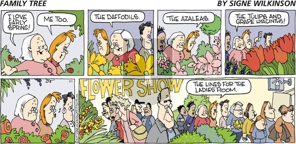 Family Tree on Sunday March 1, 2009 Comic Strip