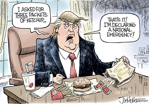 Joe Heller by Joe Heller for February 15, 2019