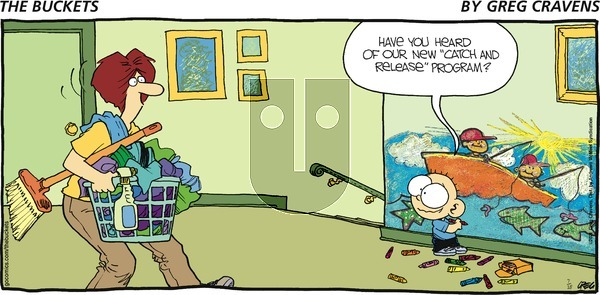 The Buckets on Sunday July 18, 2021 Comic Strip