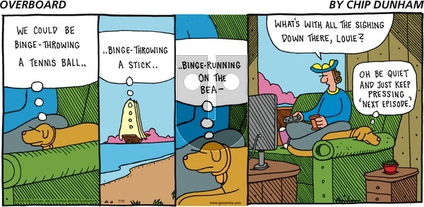 Overboard on Sunday July 12, 2020 Comic Strip