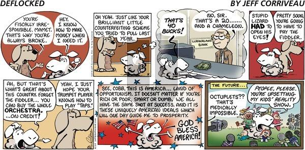 DeFlocked on Sunday August 22, 2010 Comic Strip